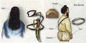 sikism essay Five sikh symbols the five ks are the five items of dress and physical appearance given to sikhs by guru gobind singh when he gathered together the first members of.
