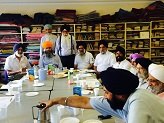 Sikh Council UK (Board of                                           Jathedars) meeting at the Sikh                                           Missionary Society UK on 4                                           July 2015